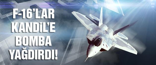 F-16'lar Diyarbakır'dan havalandı! PKK'ya flaş operasyon!