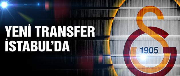 G.Saray'ın yeni transfer İstanbul'da