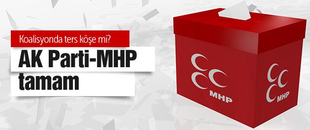 AK Parti MHP koalisyonu tamam