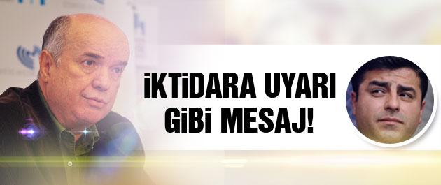 Fehmi Koru'dan iktidara uyarı gibi HDP mesajı