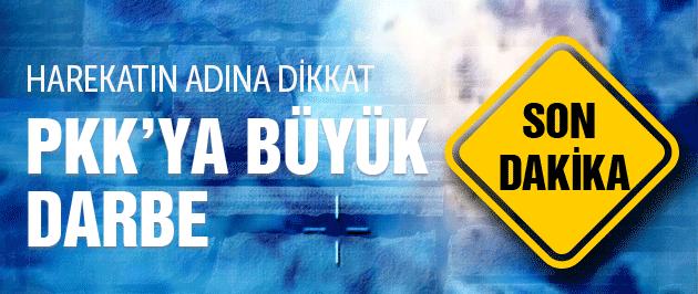 PKK'ya hava operasyonu teröre büyük darbe!