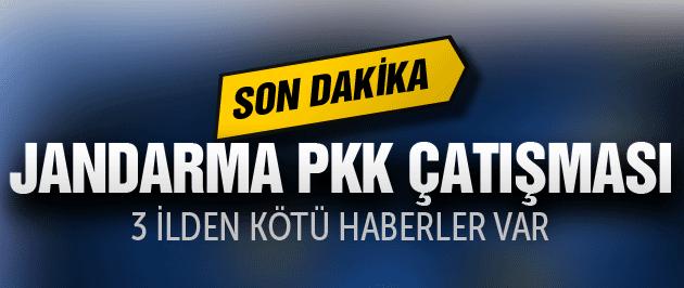 TSK ile PKK çatıştı yine kötü haber var