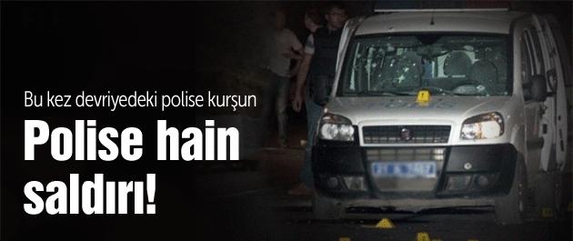 Diyarbakır'da polise hain pusu: 1 şehit!