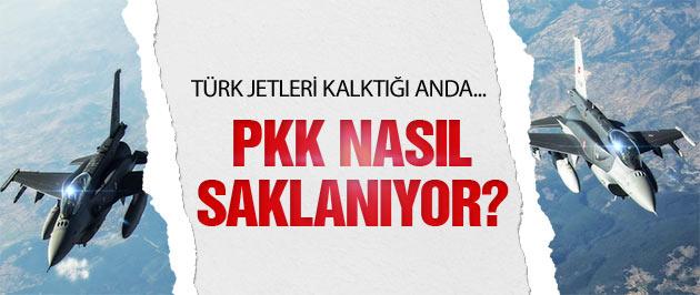 PKK Kuzey Irak'taki dağlarda nasıl saklanıyor?