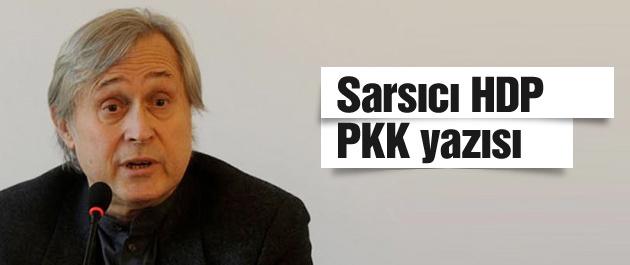 Yeni Şafak yazarından olay Demirtaş ve HDP yazısı