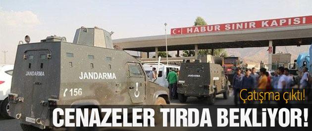 Habur'da gerginlik YPG cenazeleri bekliyor!