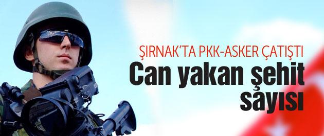 TSK - PKK çatışması şehit haberleri var