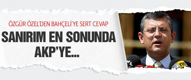 Özgür Özel'den Bahçeli ve Vural'a bomba 'hayır' cevabı!