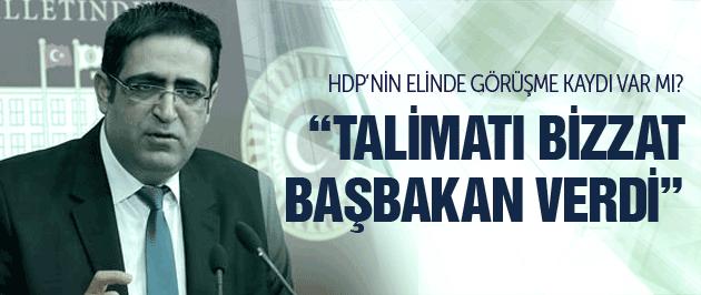 HDP'nin elinde Dolmabahçe kaydı mı var?