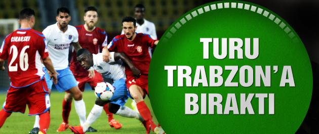 Trabzonspor deplasmanda kayıp!