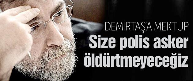 Ahmet Hakan'dan Demirtaş'a PKK ayarı!