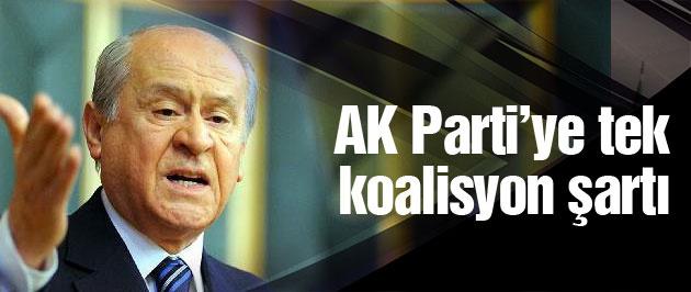 Bahçeli'den AK Parti'ye koalisyon için 'Kuran' şartı