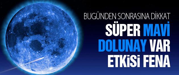 Süper Ay ve Mavi dolunay etkisi burç yorumları