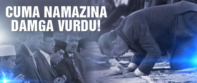 Cuma namazına Erdoğan damga vurdu