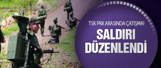 TSK PKK arasında çatışma Saldırı düzenlendi