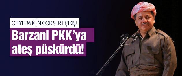 PKK'nın o eylemi Barzani'yi çıldırttı!