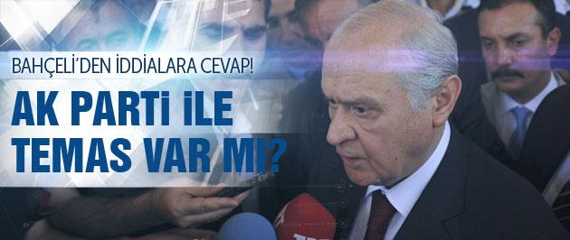 Bahçeli'den AK Parti ile koalisyon açıklaması!