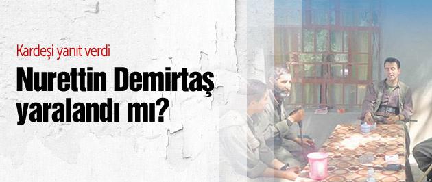 Demirtaş'tan yaralandığı iddia edilen abisiyle ilgili açıklama
