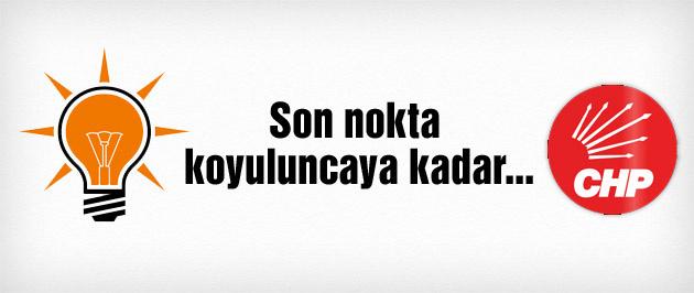 AK Parti-CHP Koalisyon görüşmesi bitti!