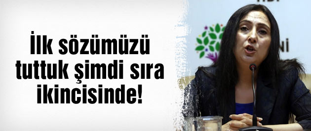 Figen Yüksekdağ'dan Erdoğan'ı hedef alan açıklamalar