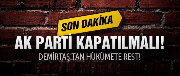 Demirtaş'dan flaş çözüm süreci açıklaması