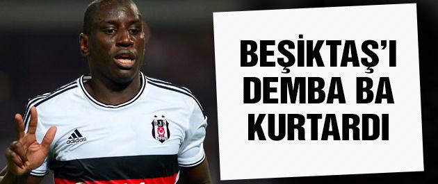 Demba Ba'dan Beşiktaş'a müthiş kıyak!