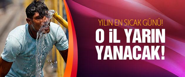 Adana hava sıcaklığı artacak yılın en sıcak günü yarın!