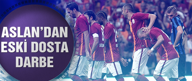Galatasaray İnter'i devirdi