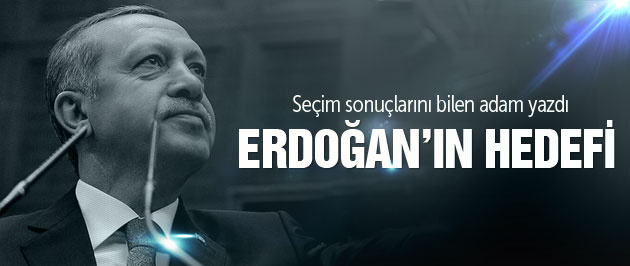 Seçim sonuçları bilen adam yazdı Erdoğan'ın hedefi...