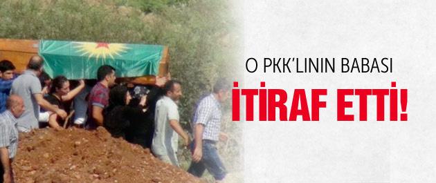 Öldürülen PKK'lının babası itiraf etti!