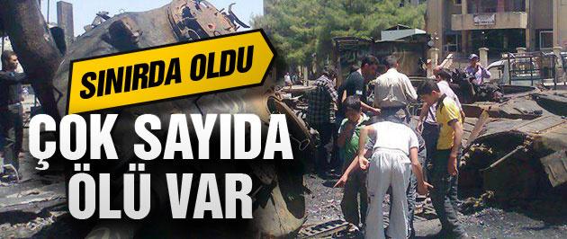 Türkiye sınırında flaş gelişme 35 ölü 120 yaralı