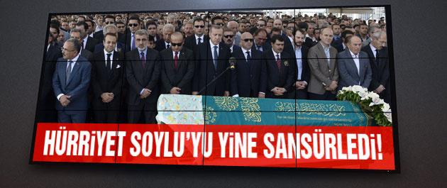 Hürriyet'in Süleyman Soylu sansürü tam gaz!