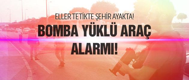 Zonguldak'ta bomba yüklü araç alarmı!