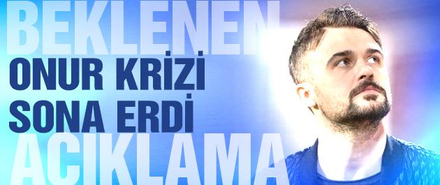 Trabzonspor'da Onur Kıvrak krizi sona erdi
