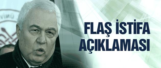 Celal Doğan'dan flaş istifa açıklaması!