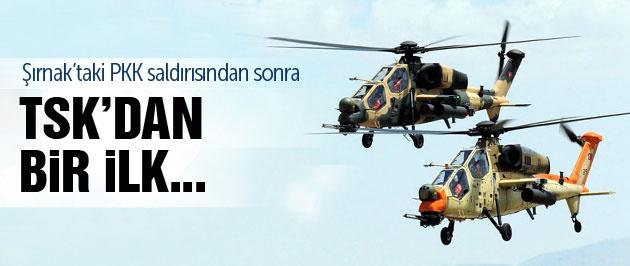 Şırnak PKK saldırısı sonrası TSK'dan bir ilk