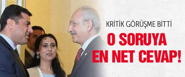 HDP-CHP görüşmesi sonrası kritik açıklama!