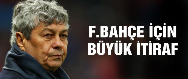 Mircea Lucescu'dan Fenerbahçe itirafı