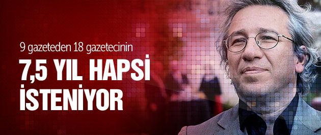 18 gazeteciye 7'şer buçuk yıl hapis!