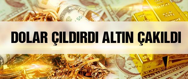 Dolar kuru çıldırdı altın fiyatları bugün de düşüyor