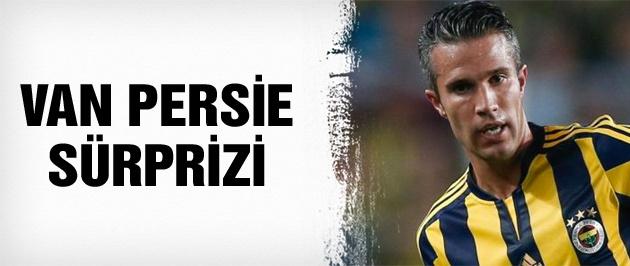 Fenerbahçe'de van Persie sürprizi