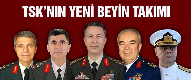 YAŞ kararları işte TSK'nın yeni komutanları