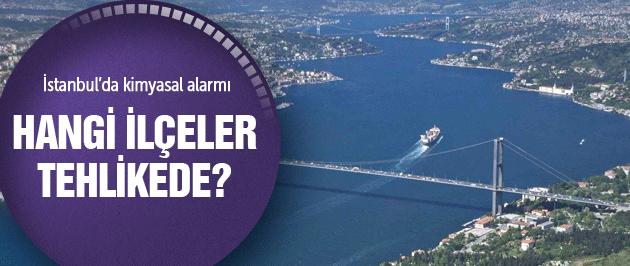 İstanbul'da kimyasal sızıntı alarmı Flaş gelişme