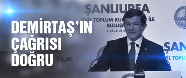 Davutoğlu'ndan iki kritik açıklama