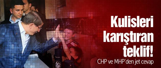 Davutoğlu'ndan Ankara'yı karıştıran teklif!