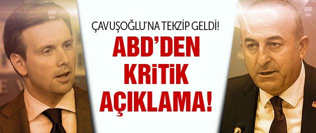 ABŞ Çavuşoğlu'nun iddiasını təsdiq etmədi!