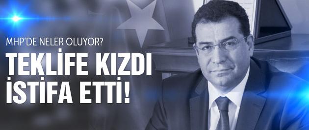 Bakanlık teklifi götürülen MHP'li Kenan Tanrıkulu istifa etti