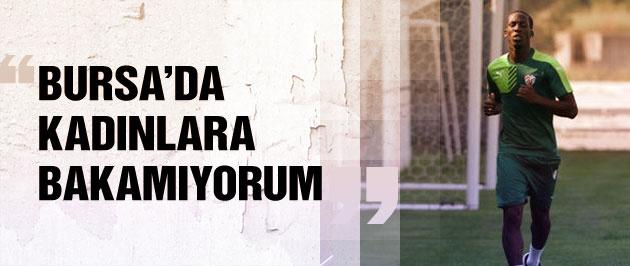 Bursa'nın yeni transferinden ilginç açıklama
