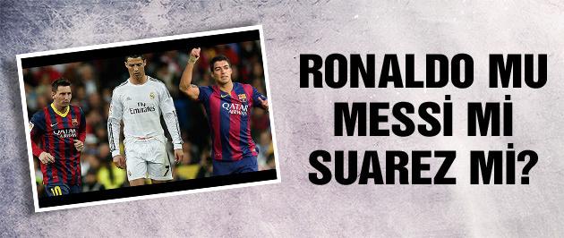 Messi mi Ronaldo mu Suarez mi?