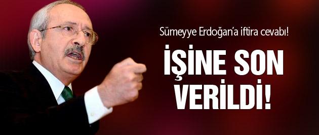 Kılıçdaroğlu'ndan Davutoğlu'na Sümeyye Erdoğan'a iftira cevabı!